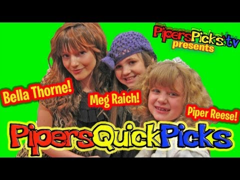 Bella Thorne & Meg Raich Interview with Youngest Hollywood Reporter Piper Reese Power of Youth 2009