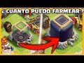 ¿ CUANTO ELEXIR OSCURO FARMEO EN LEYENDA EN UN CICLO (4 HORAS) ? - #REY50 - CLASH OF CLANS