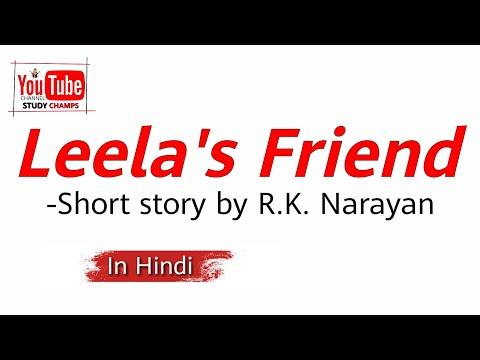 Leela's Friend By R.K. Narayan In Hindi|Full Summary Explanation And Analysis|