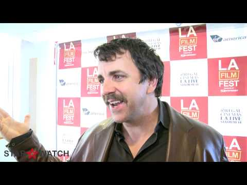 Joseph Lyle Taylor red carpet interview at 2012 Los Angeles Film Festival