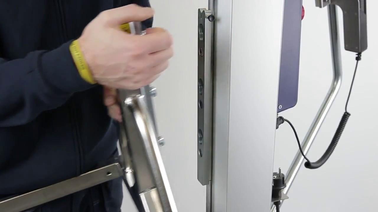 Carretilla elevadora con fácil conexión para el cambio rápido de útiles