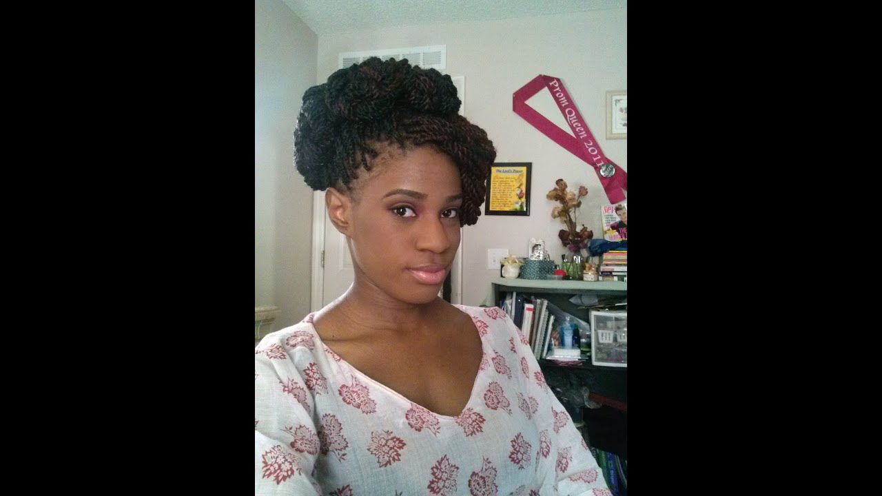 How I Style My Senegalese Twists Amp Box Braids Elegant