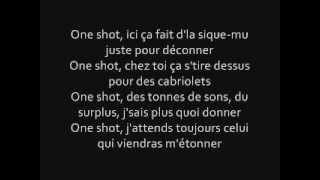 "Maitre Gims ""One shot"" Ft Dry Paroles officiel"