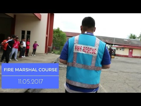"""Prevention is better than a Cure"" - Practical day at our fire marshal course May 11.2017"