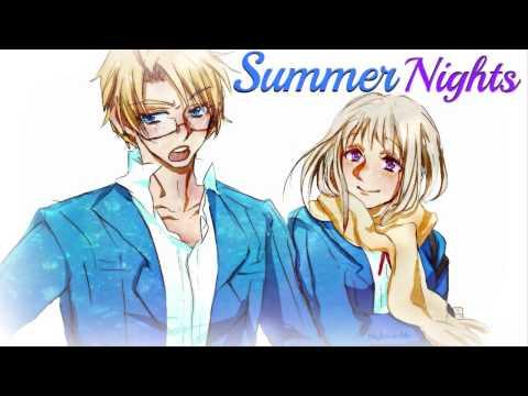 HD | Nightcore - Summer Nights [Grease]