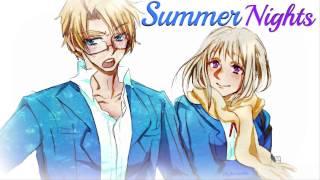 HD   Nightcore - Summer Nights [Grease]