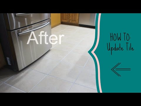 how to update tile flooring