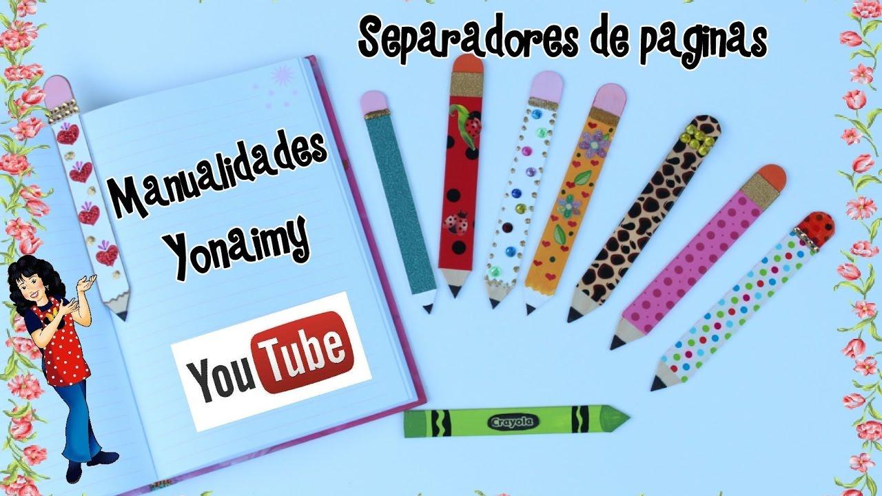 Lapices y crayolas para separadores de paginas hechos con - Paginas de manualidades ...