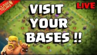 COC LIVE VISIT YOUR BASES ANB WiNTER UPDATE