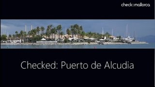 Puerto de Alcudia Mallorca Urlaub Strand Check