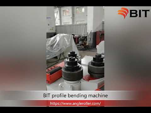 INSTALL THE BENDING ANGLE IRON MOLD OF W24 SERES SECTION BENDING MACHINE