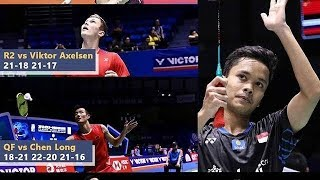 BL Tiongkok Ramai-ramai Puji Anthony Ginting | Forum Victor China Open Final 2018