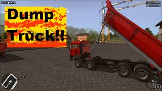 Construction Simulator 2015 New dump truck!!