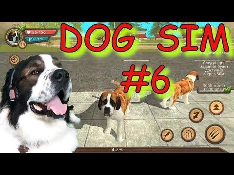 Anjing Sim #6. Baru Simulator Anjing Online. Bagian. Bulat Memainkan Game