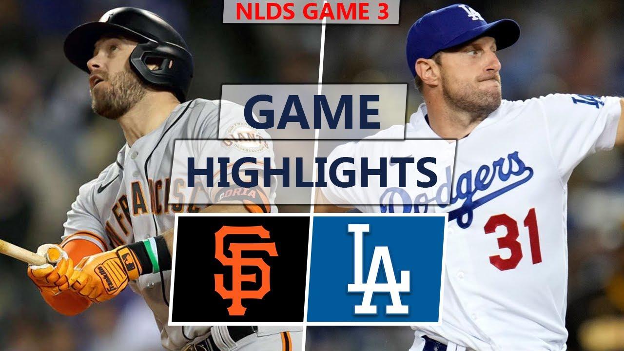 San Francisco Giants vs. Los Angeles Dodgers Highlights | NLDS Game 3 (2021)