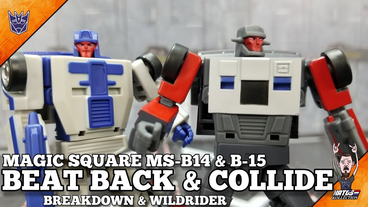 Magic Square Beat Back and Collide Legends Scale Stunticons Review by Kato's Kollection