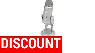 Blue Yeti Silver USB Microphone Review