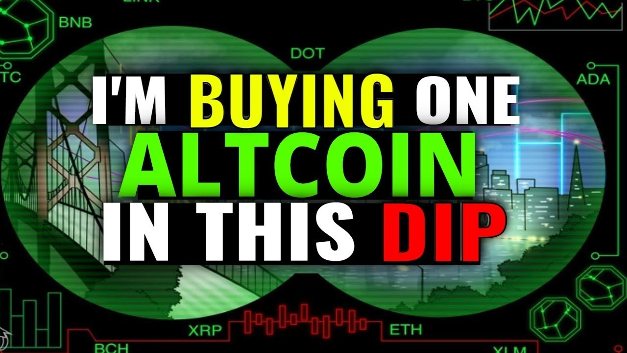 I'M BUYING THIS ALTCOIN IN THIS DIP - MARKET UPDATE
