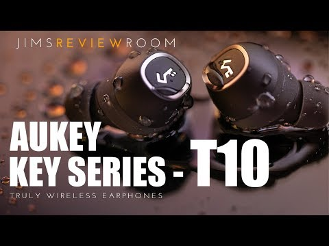 Aukey T10 earbud REVIEW :  Real competitor to Bose - Sennheiser - Sony  Truly Wireless Earphones!