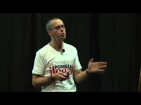Poverty illegal -- make this a global movement: Henrique Pinto at TEDxIST