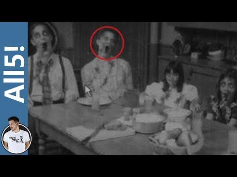 5 Creepy Unexplained Ghost Photos!