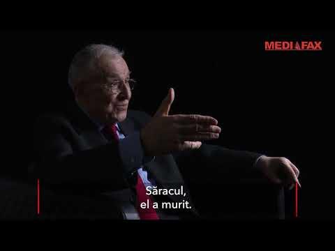 Iliescu: Au fost oameni legați de interesele lui Ceaușescu, care au vrut să-i îndeplinească misiunea
