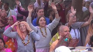2017 Navadwip Mandala Parikrama Day 8 - Part 1. Maha Sammelan Pandal Event.