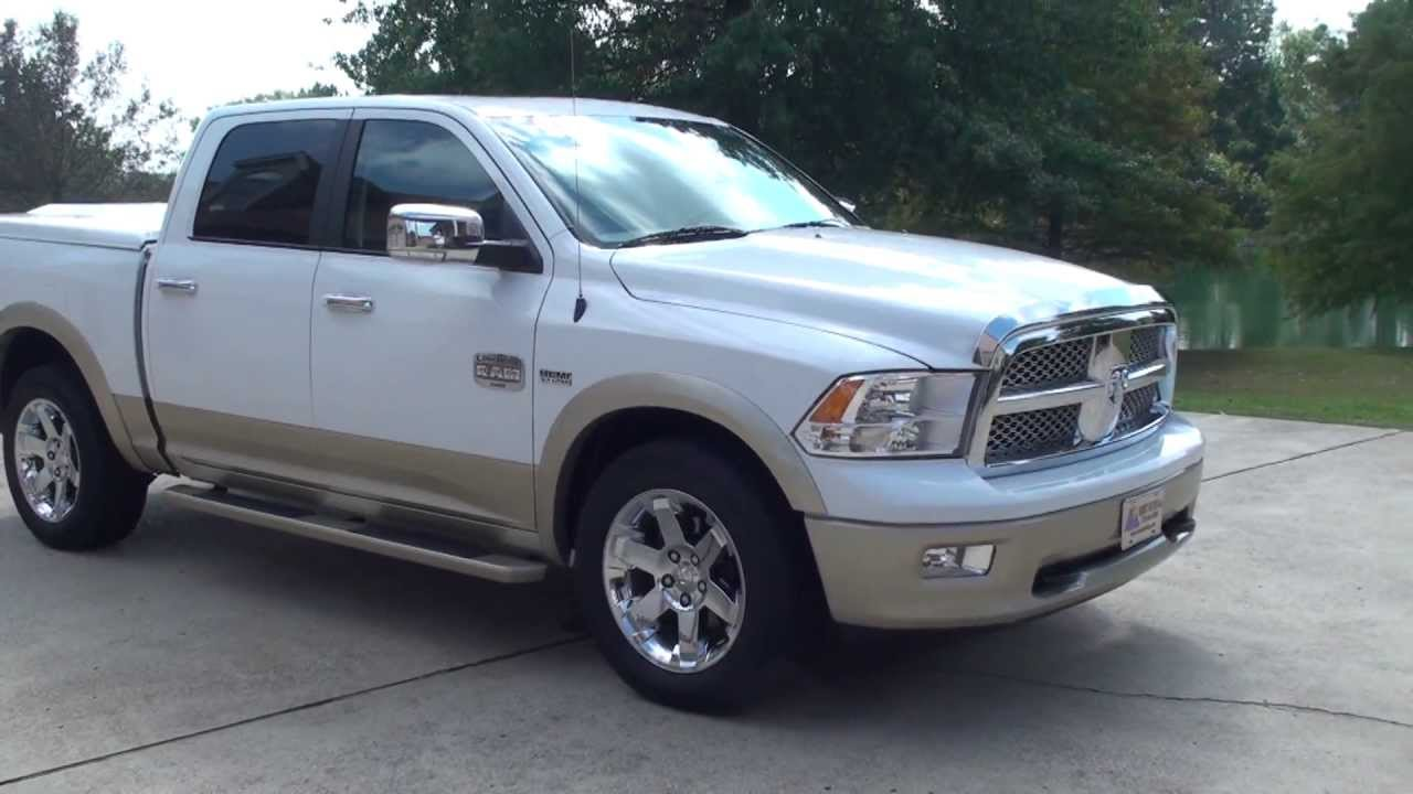 HD VIDEO 2011 DODGE RAM 1500 LARAMIE LONG HORN 4X4 FOR SALE SEE WWW