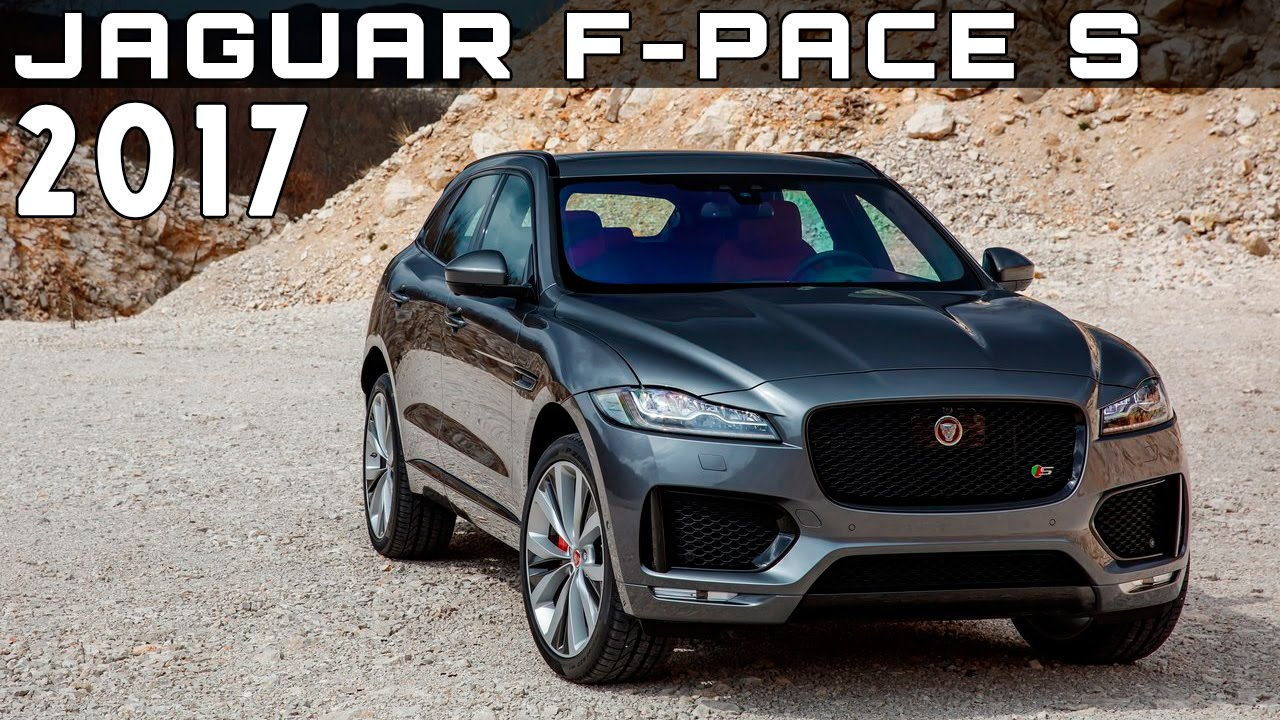 2017 jaguar f pace s review rendered price specs release. Black Bedroom Furniture Sets. Home Design Ideas
