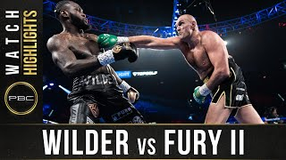 Wilder vs Fury 2 HIGHLIGHTS: February 22, 2020