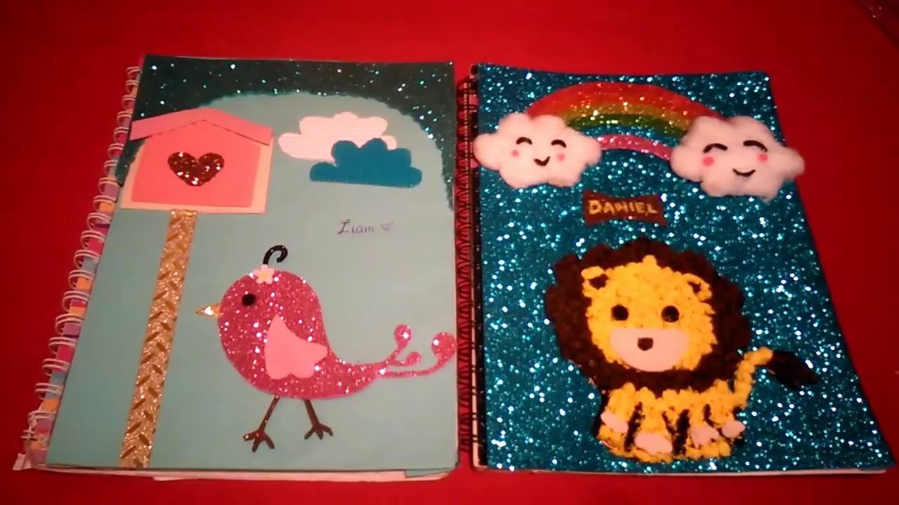2 Ideas Para Forrar Cuadernos Muy Creativaspreescolar