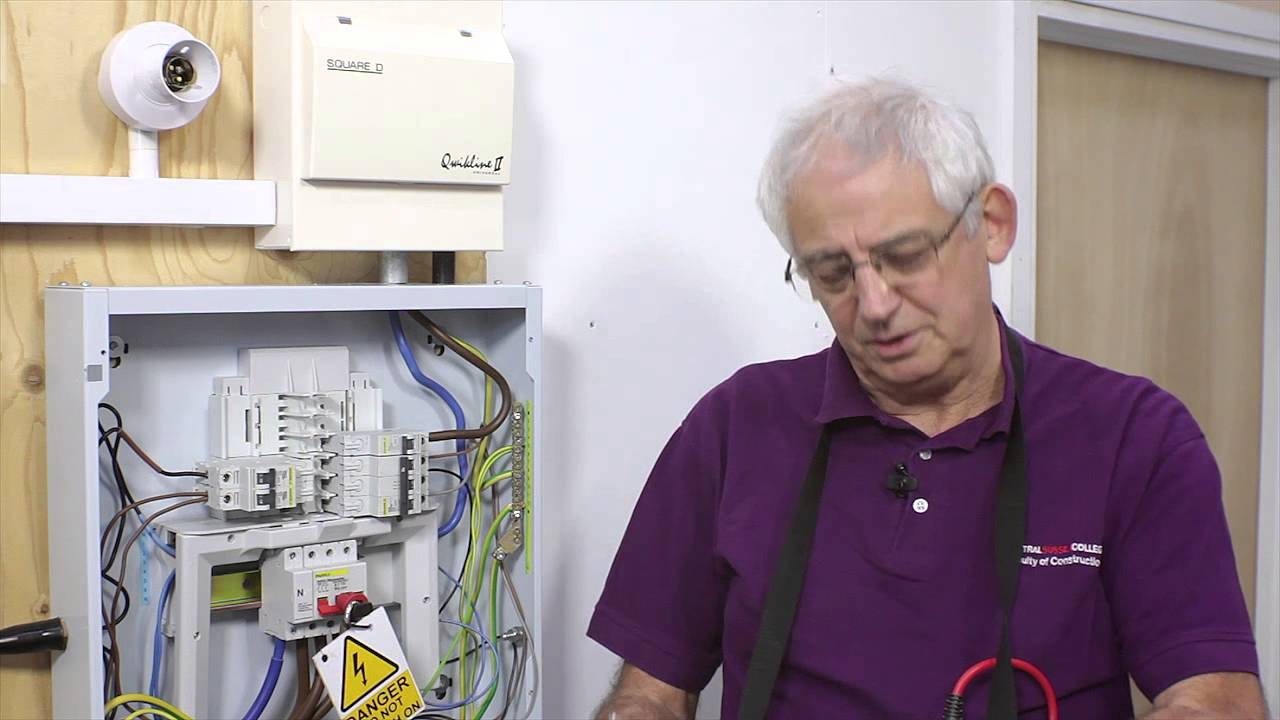 Qr Code 7 Three Phase Insulation Resistance Test Youtube Distribution Board Wiring Malaysia