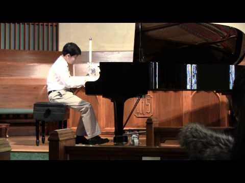 Patrick Chu 2015 National Federation of Music Clubs Honor recital