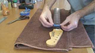 Stratocaster Guitar Build - Part 6 - Building A Stratocaster Guitar Neck