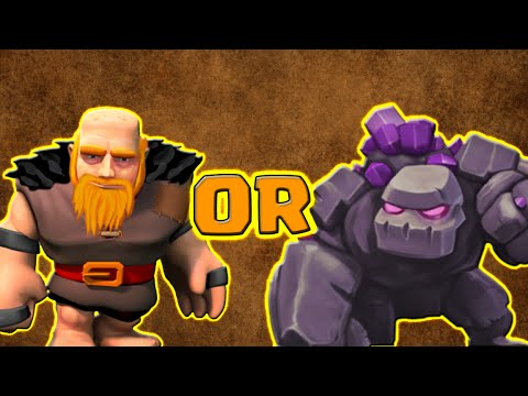 Clash of Clans | Can The Level 7 Giant Match The Golem?