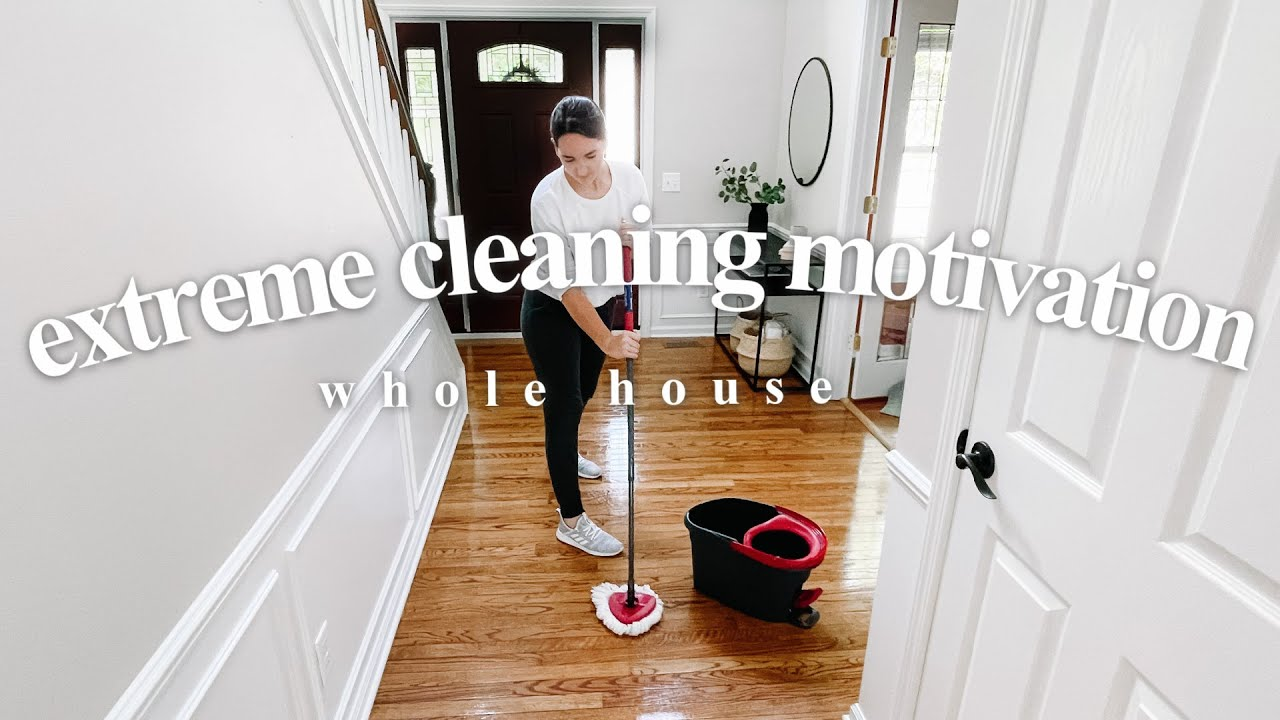 NEW HOUSE CLEAN WITH ME 2021 | WHOLE HOUSE Clean, Organize, Smart Set Up
