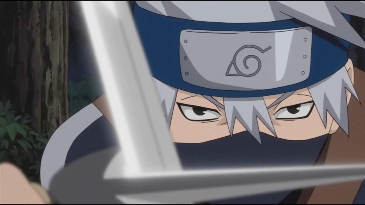 [FanDUB] O Conto de Kakashi - Minato Vs Obito, Rin e Kakashi