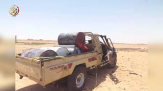 اللقطات الأولى لتصدي القوات المسلحة لعملية إرهابية بالمنطقة الشمالية