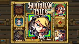 Guardian Tales event - 21 Kanterbury Street - Science Club Full Guide ⭐⭐⭐ 100% completion