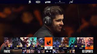 [S-VOD Review] Fnatic vs G2 Game 4