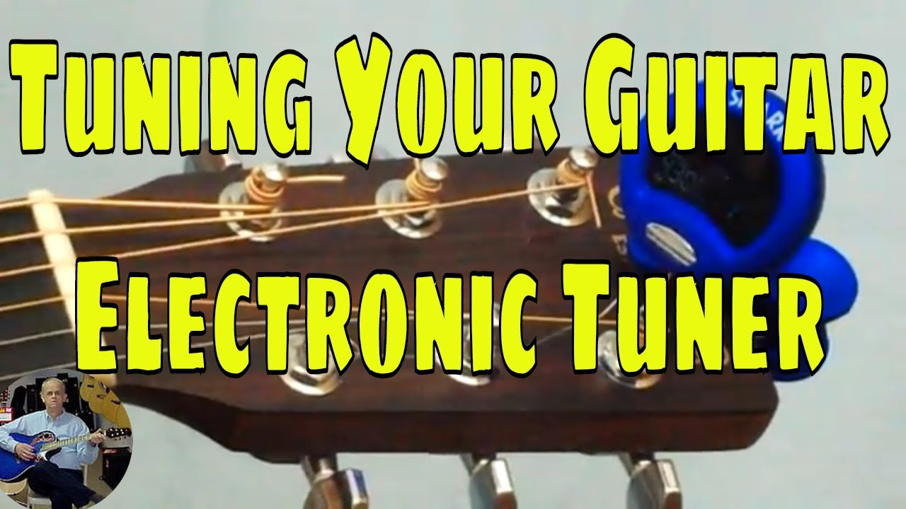 tune your acoustic guitar with electronic tuner how to play adult guitar lessons youtube. Black Bedroom Furniture Sets. Home Design Ideas