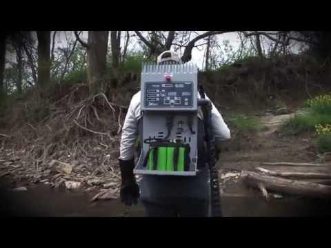 Infinity XStream Backpack Electrofisher