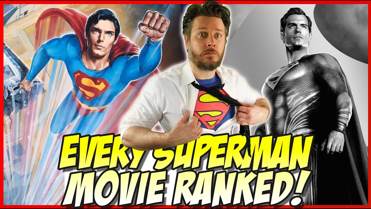 Download All 11 Superman Movies Ranked!