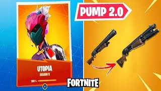 SKIN UTOPIA VS. DRAGON OF THE FORTNITE AND NEW PUMP 2.0!