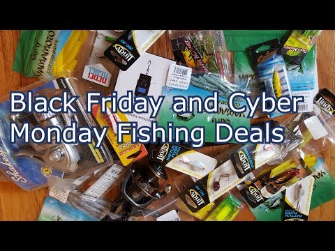 Cyber Monday And Black Friday - Fishing Deals Unboxing