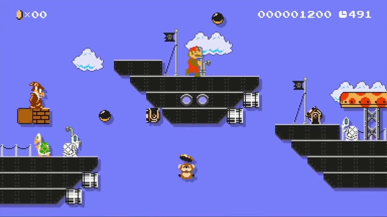 Mario Maker Mario Odyssey Airship Theme Metal Cover Youtube