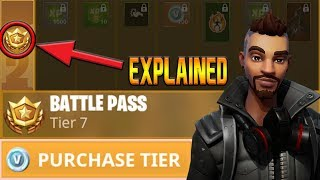 Fortnite Battle Royale - BATTLE PASS EXPLAINED - Season 5!