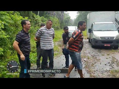 Polícia prende 14 suspeitos de integrar quadrilha de roubos de carga | Primeiro Impacto (11/04/18)
