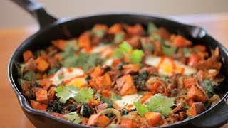 Liesl's Sweet Potato & Kale Hash