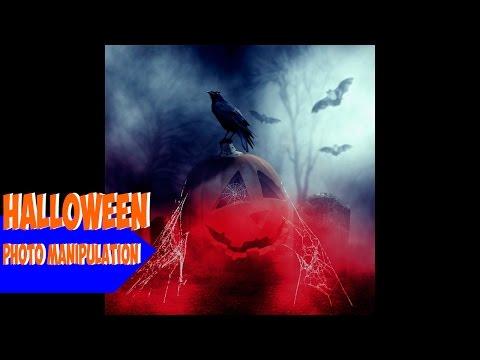 Halloween-Photoshop manipulation